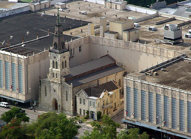 St. Joseph Catholic Church in San Antonio, Texas (via Wikimedia)
