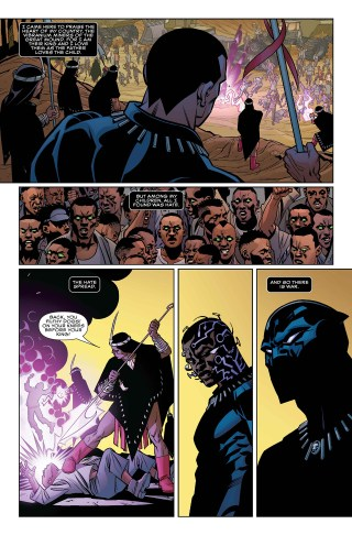Page from 'Black Panther' (click to enlarge)