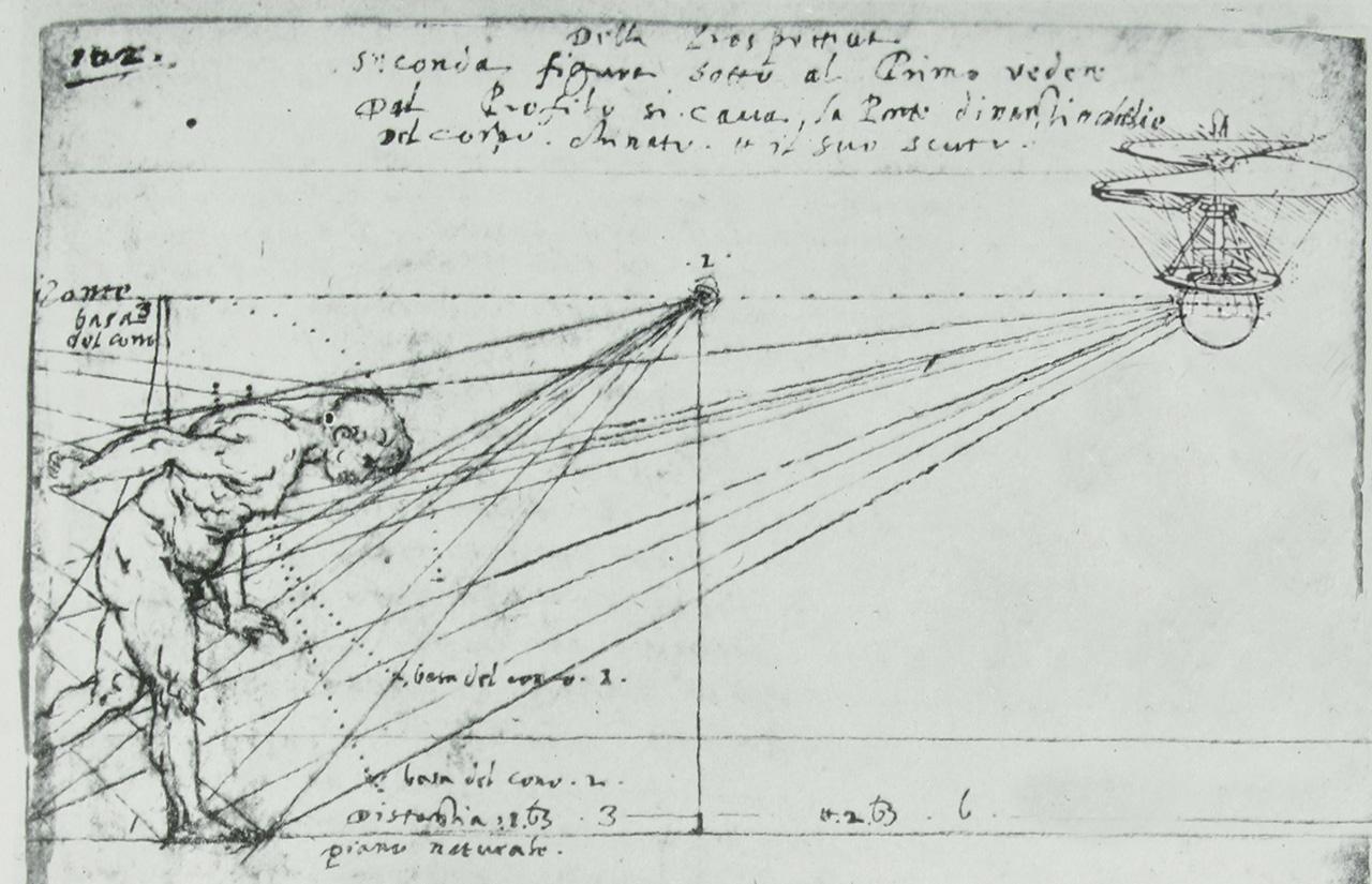 Newly Discovered Sketches Reveal Leonardo Da Vinci Designed The First Drone
