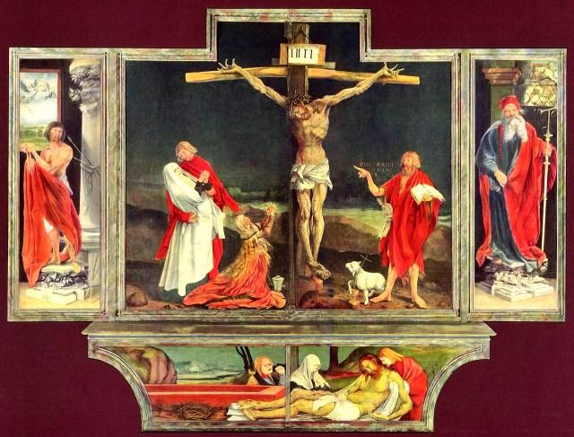 "Matthias Grünewald, ""Isenheim Altarpiece"" (1512–16) (image courtesy Verso Books)"