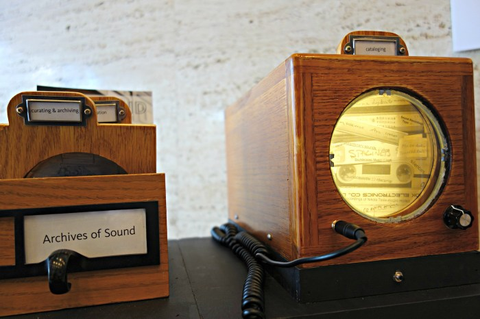 'Archives of Sound' at the New York Public Library for the Performing Arts