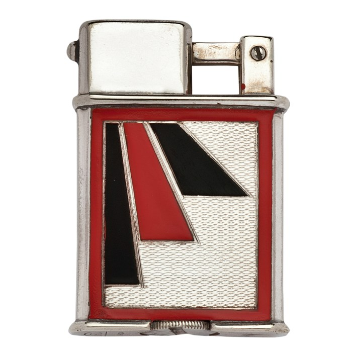 Orion cigarette lighter (United States, 1929), designed by Adolf Kinzinger and produced by Sarastro, Pforzheim (© Rodney and Diana Capstick-Dale)