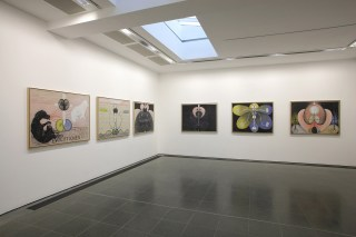 Installation view, 'Hilma af Klint: Painting the Unseen' at Serpentine Gallery, London, March 3–May 15, 2016) (image © Jerry Hardman-Jones) (click to enlarge)