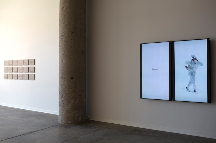 Installation view of Anthony Marcellini's 'City of Restless Objects' at Simone DeSousa Gallery