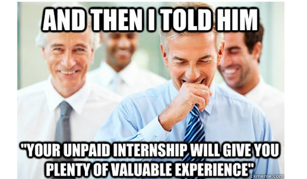 Things to Know and Consider Before Taking an Unpaid Internship