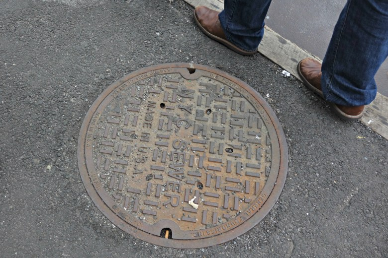 NYC Sewer manhole cover