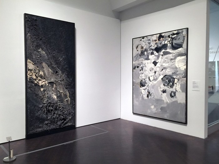 Works by Jay Defeo in 'Women of Abstract Expressionism'