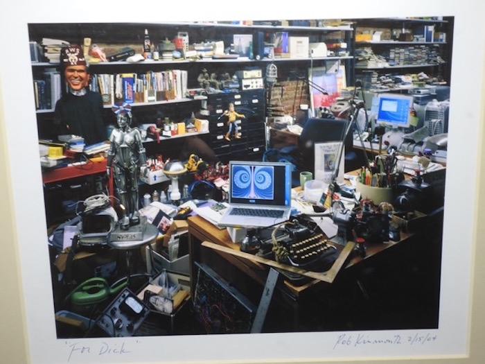 Photo by Ron Kinmouth of Dick Demenus' desk (photo courtesy Jan Albert)