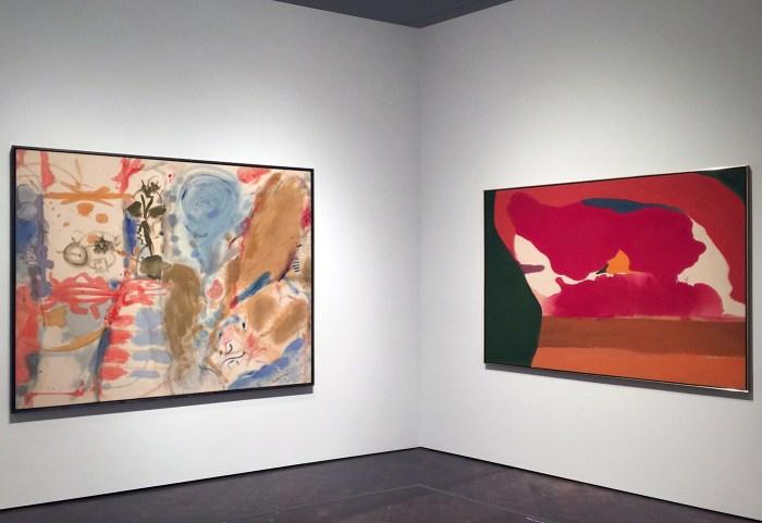 Works by Helen Frankenthaler