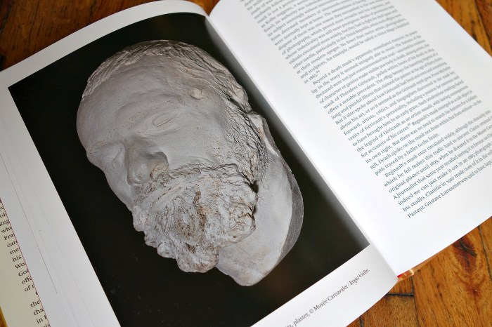Pages from 'The Deaths of Henri Regnault ' (photo of the book for Hyperallergic)