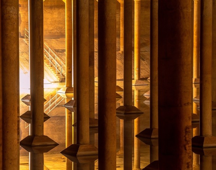 The Buffalo Bayou Park Cistern (photo by Jon Shapley)