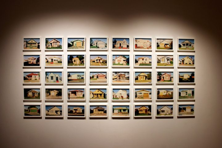 Henry Wessel Jr., Forty Real Estate Photographs, 1990-1991, part of After Industry at the Weston Gallery