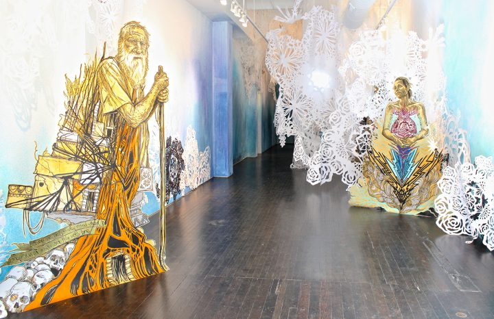The Light After, installation view.