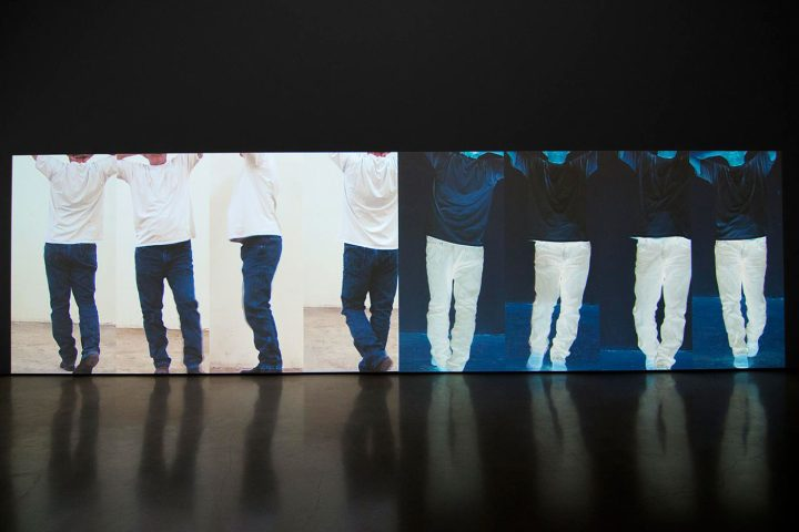 Installation view, 'Contrapposto Studies, i through vii' at Sperone Westwater (all images courtesy Sperone Westwater)