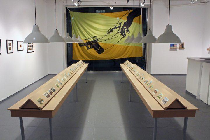 Installation view of 'David Opdyke: Truthful Hyperbole' at Magnan Metz Gallery