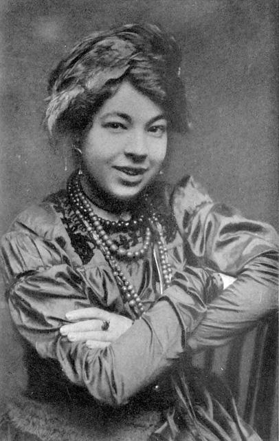 Pamela Colman Smith in 1912 (via Wikimedia)