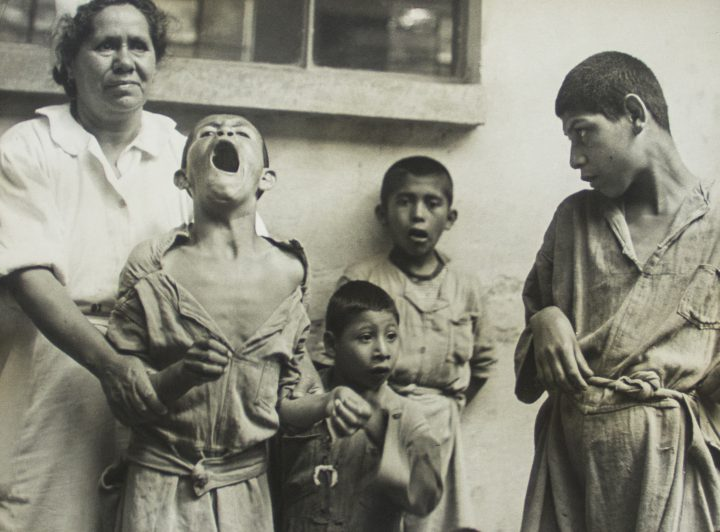 Kati Horna. Untitled (From the series La Castañeda). 1944. Gelatin silver print, 8 7/8 x 6 ⅝ in. Private collection, Mexico City. © 2005 Ana María Norah Horna y Fernández