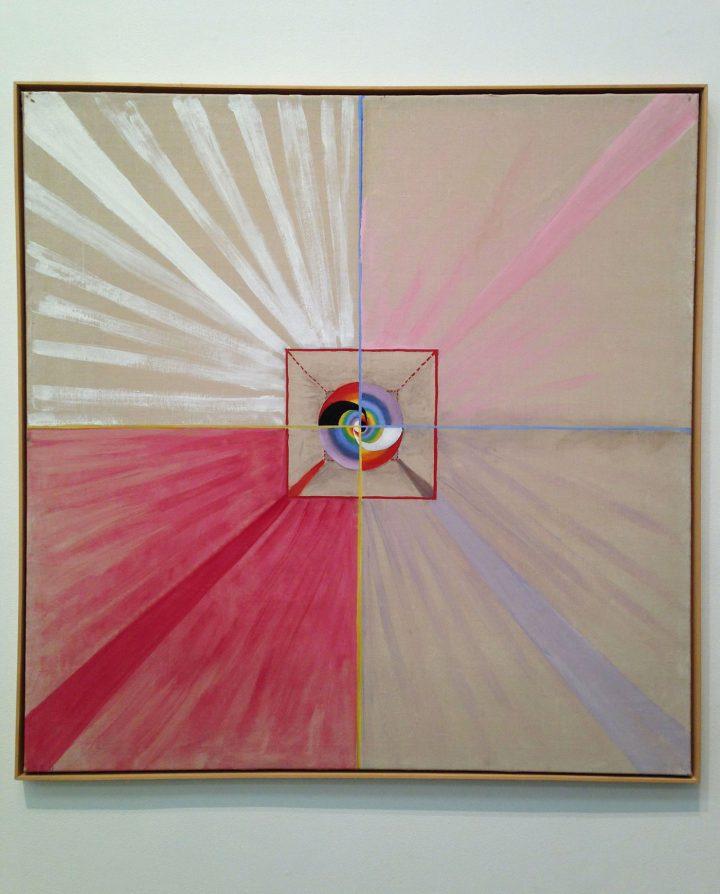 "Hilma af Klint, ""The Swan, No. 11"" from Group IX, Series SUW/US (1914–15)"