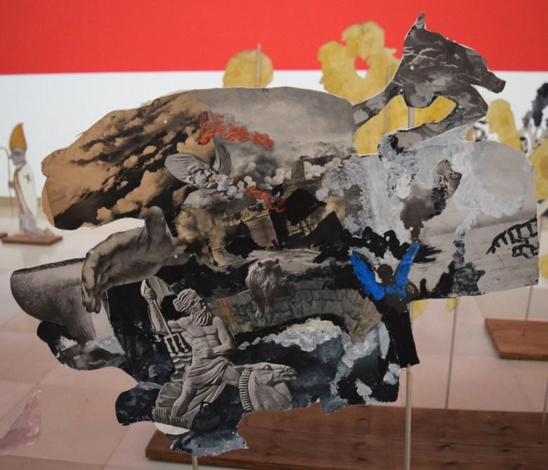 Anna Boghiguian, A Walk in the Unconscious installation view