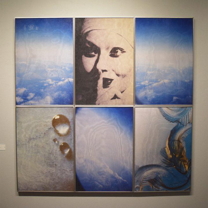 """Birgit Jürgenssen, """"Untitled (Nun)"""" (1990), in the Fergus McCaffrey booth at the 2017 ADAA Art Show"""