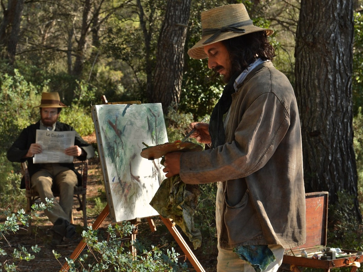 Guillaume Canet and Guillaume Gallienne in Cézanne et Moi (Cézanne and I), a Magnolia Pictures release (all images courtesy Magnolia Pictures)