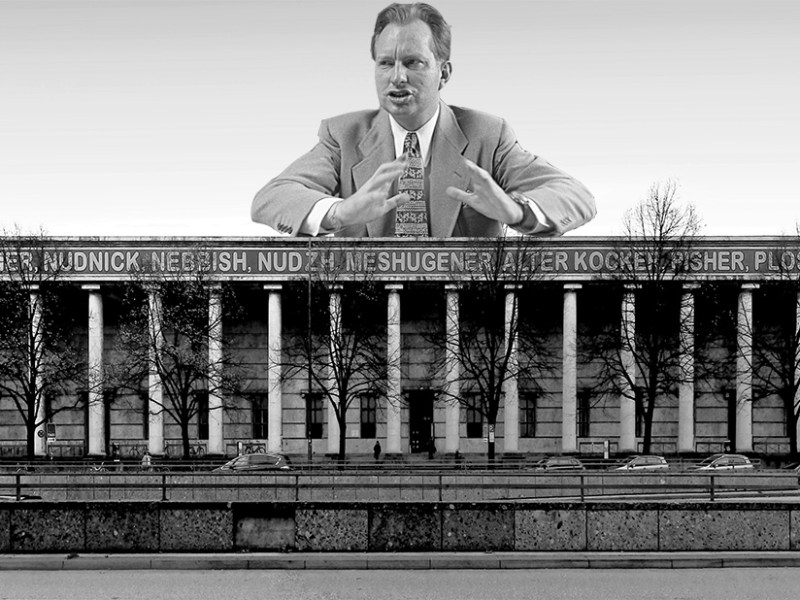 L. Rob Hubbard presides over the Haus der Kunst. (images 1 and 2 via Wikimedia)