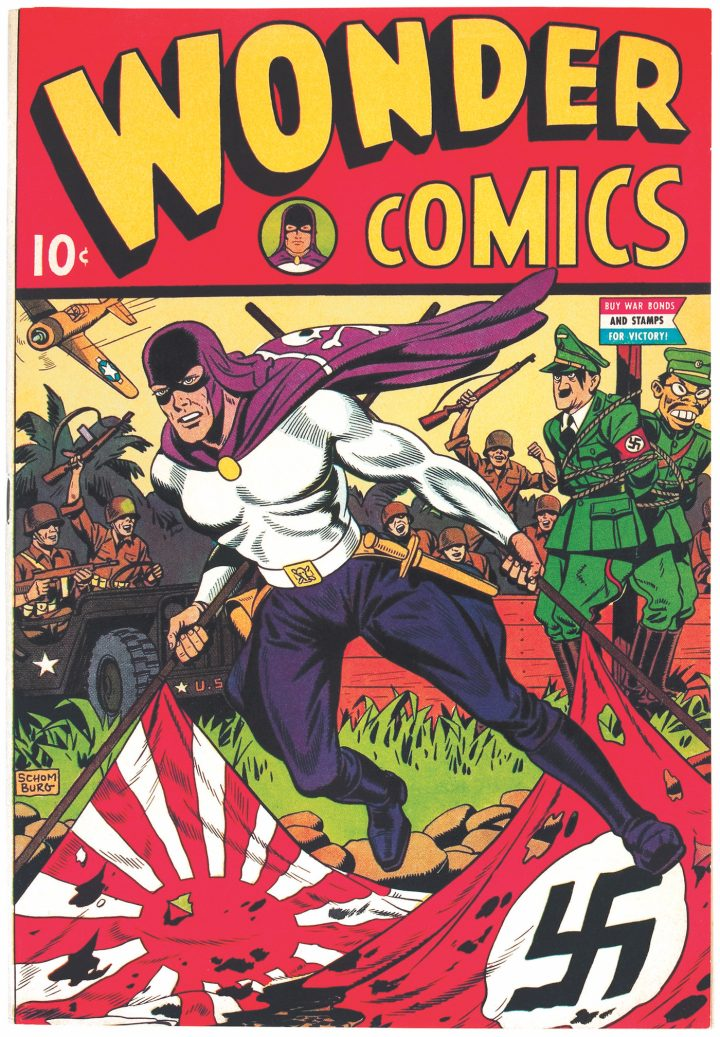Cover of Wonder Comics #1 (March 1944)