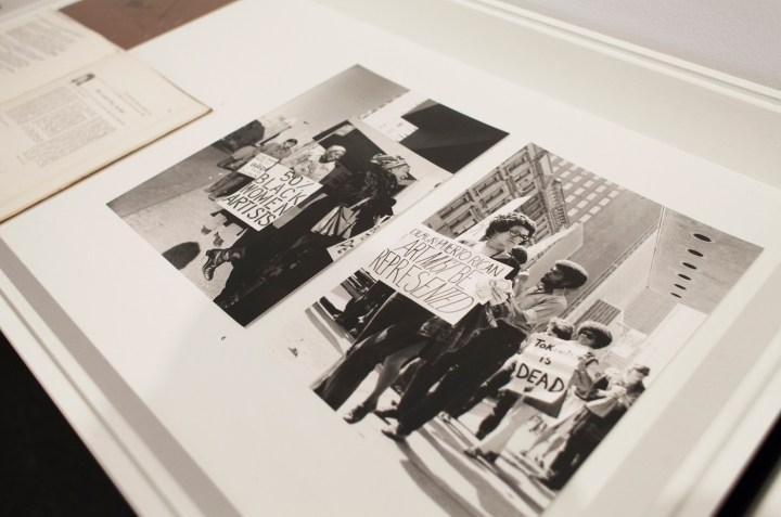 Installation view of We Wanted a Revolution: Black Radical Women, 1965–85 at the Brooklyn Museum (© Jonathan Dorado)
