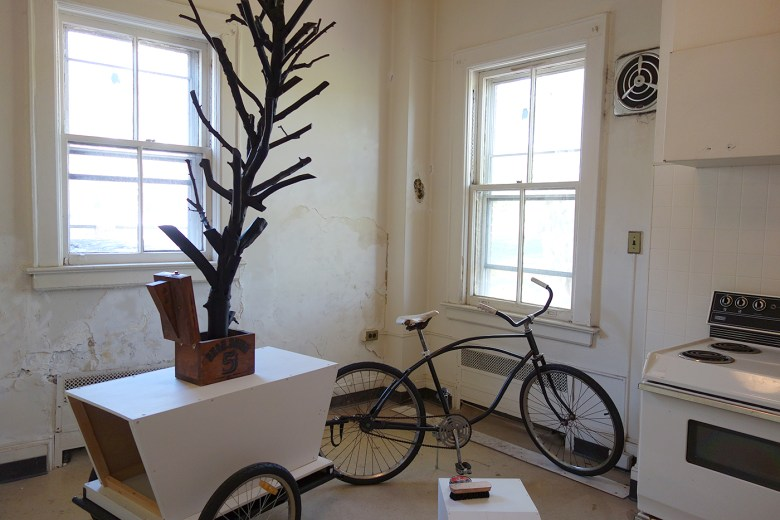"Andrew Harrison, ""A Tree for Andrew Williams"" (2017), sculpture"