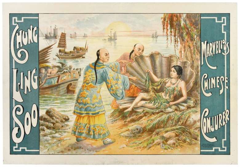 """""""Chung Ling Soo Marvellous Chinese Conjurer"""" (James Upton Ltd., 1900-18) (© McCord Museum)"""