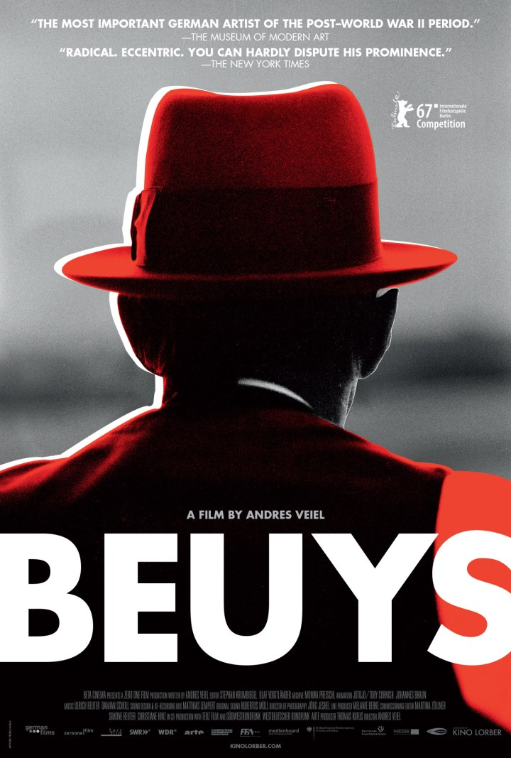 Poster for Beuys (2017) (courtesy Kino Lorber)
