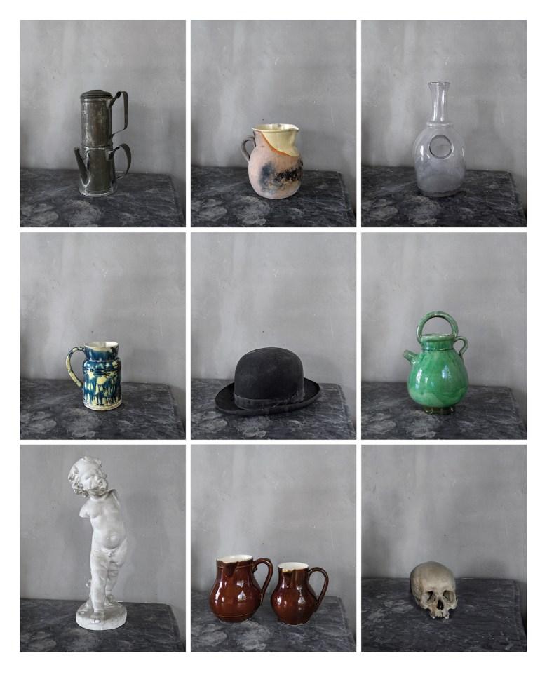 Joel Meyerowitz, grid of photographs from <em srcset=