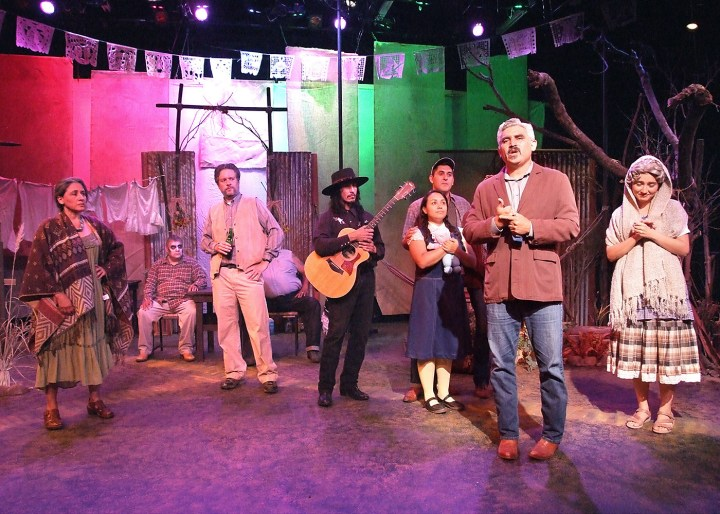 A scene from An Enemy of the Pueblo at CASA 0101 (photo by Ed Krieger)