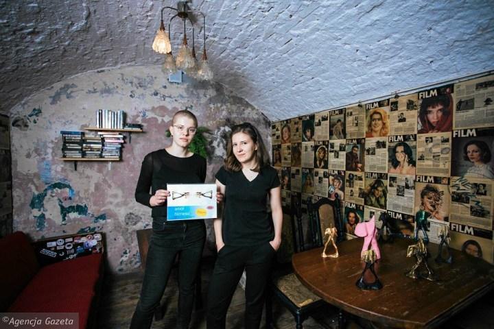 Agata Grabowska and Olga Rusinek, the curators of <em srcset=