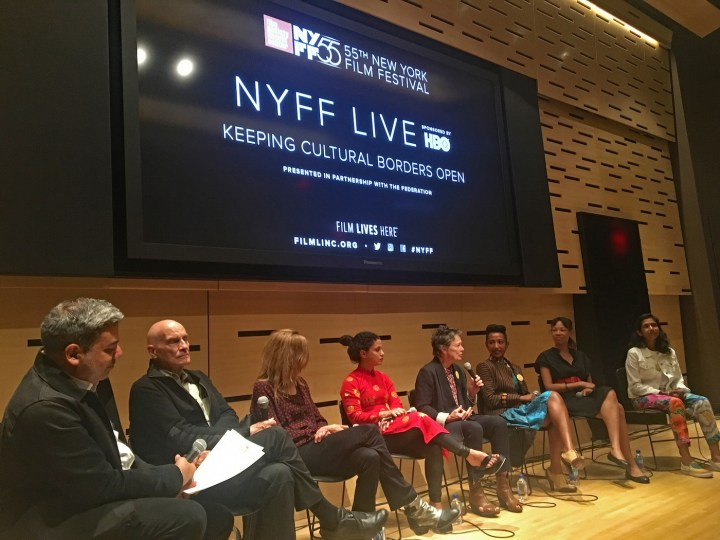 Members of the Federation participate in a panel at the 2017 New York Film Festival (courtesy the Federation)