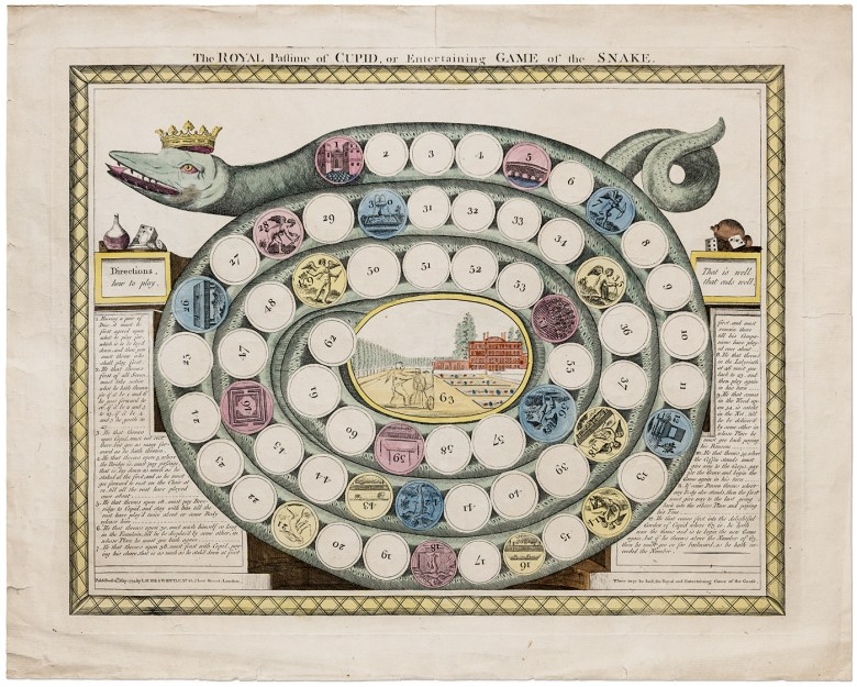 Dazzling And Didactic Board Games From The 19th Century