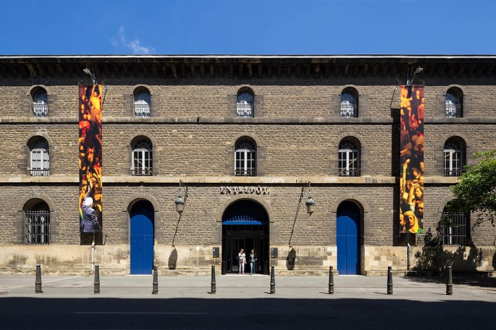 The exterior of the CAPC Museum of Contemporary Art of Bordeaux (photo by Arthur Péquin, courtesy the city of Bordeaux)