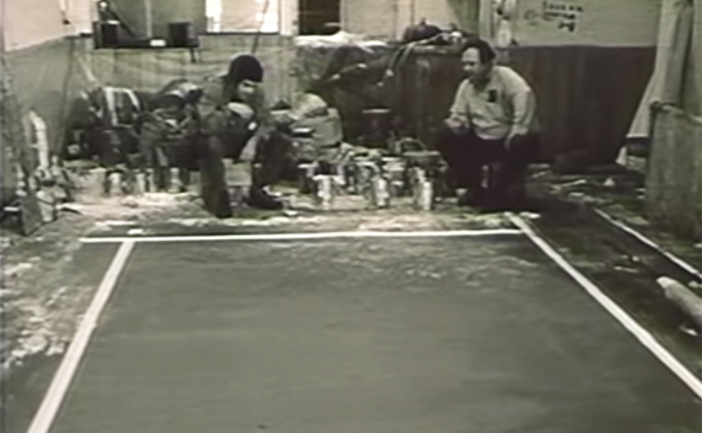 A scene from Painters Painting (Emile de Antonio, 1973) (screenshot by the author)