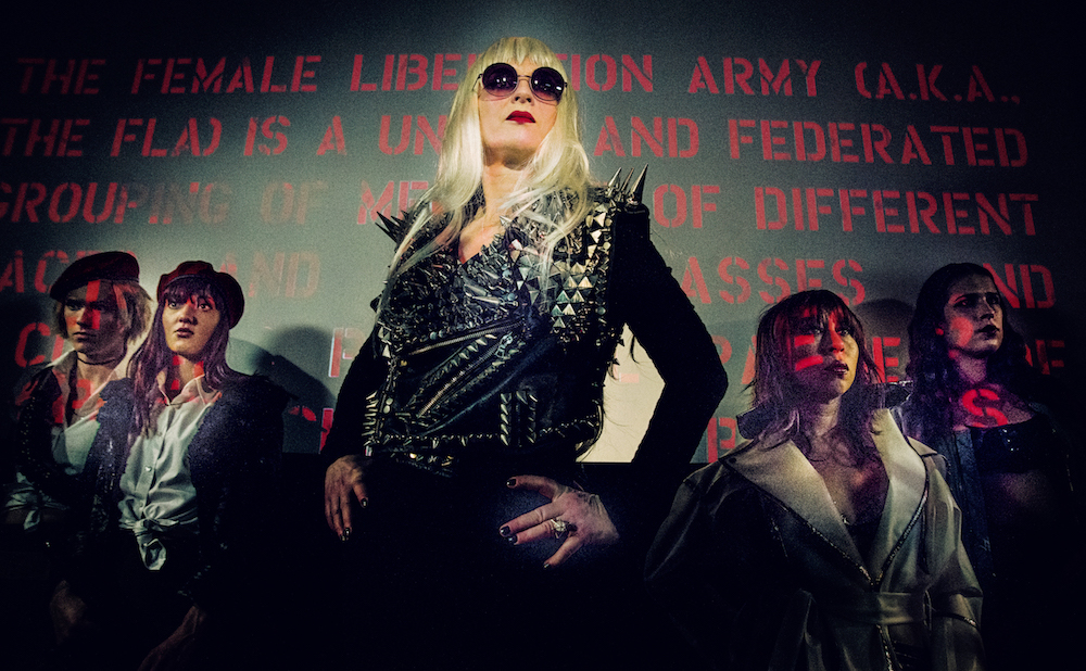 Susanne Sachsse stars as Big Mother Bruce LaBruce's The Misandrists (all images courtesy Cartilage Films)