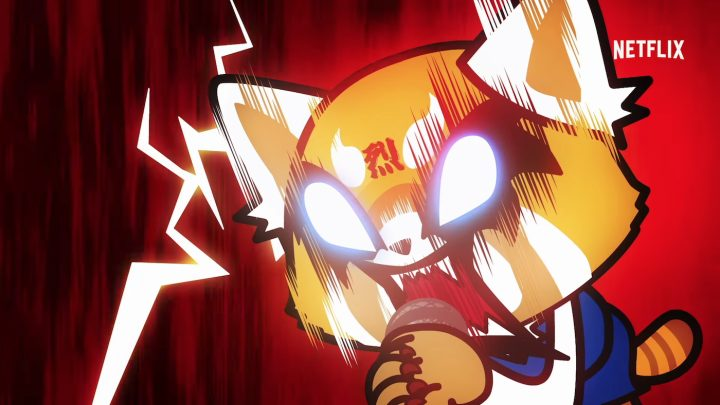 A scene from Aggretsuko