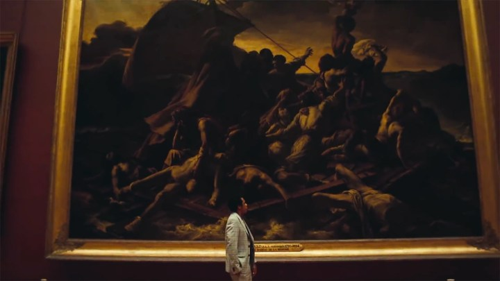 "Jay-Z contemplates Théodore Géricault's ""The Raft of the Medusa"""