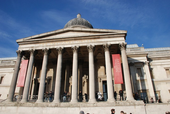 The National Gallery in London (image by Tosh Marshall)
