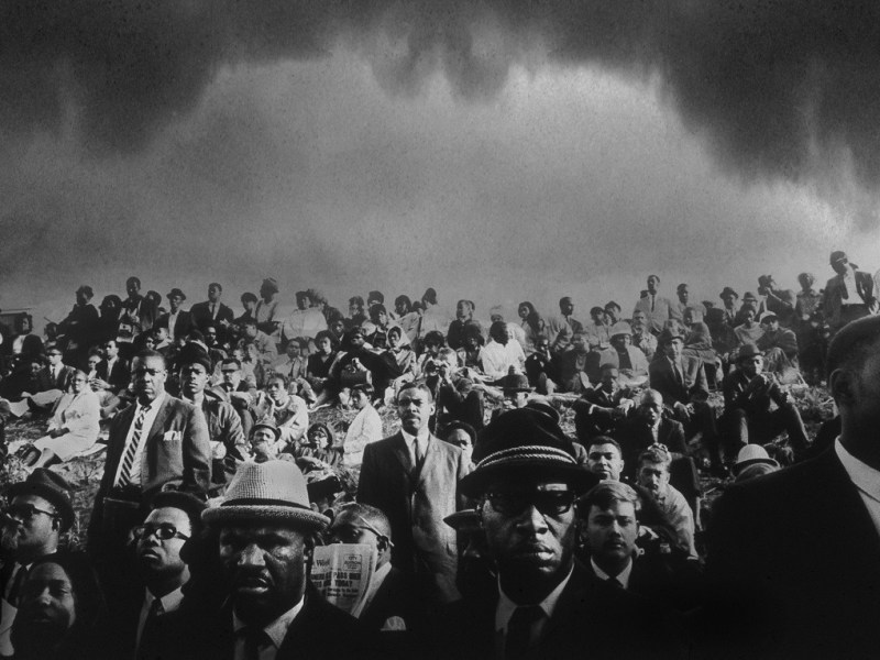 John Shearer, John Shearer, King Funeral March, 1968 Black & white photograph, 20 x 30 inches John Shearer Picturebook