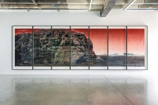 "Tacita Dean, ""Quarantania"" (2018) (image courtesy Niels Borch Jensen Gallery & Editions, Booth 214)"