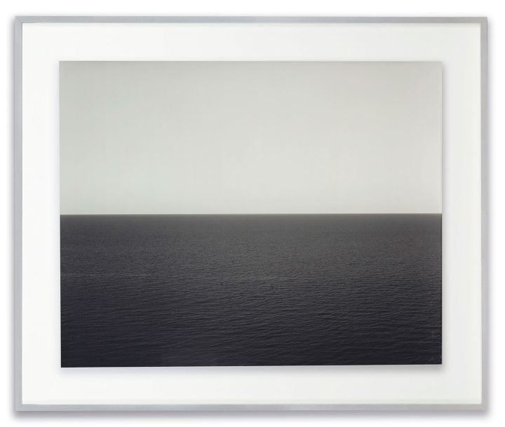 "Hiroshi Sugimoto, ""Sea of Japan, Rebin Island, 1996"" (image courtesy Christie's)"
