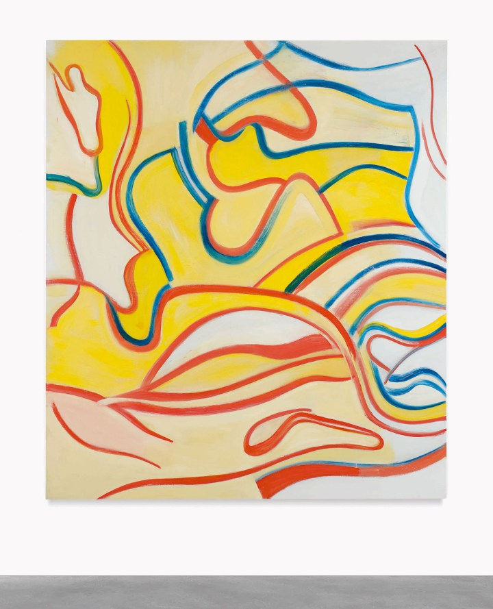 """Willem De Kooning, """"Untitled"""" (1987), oil on canvas, 88 x 77 inches (image courtesy Sotheby's)"""