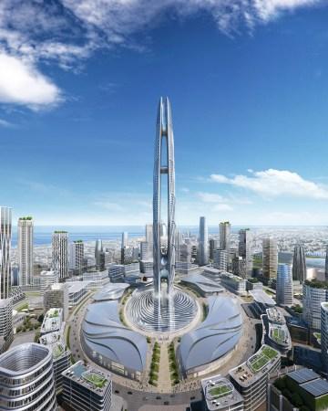 Rendering of Burj Jumiera