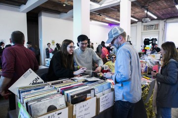 Come Together: Music Festival and Label Market on March 24, 2018, presented at MoMA PS1 as a part of VW Sunday Sessions 2017–2018