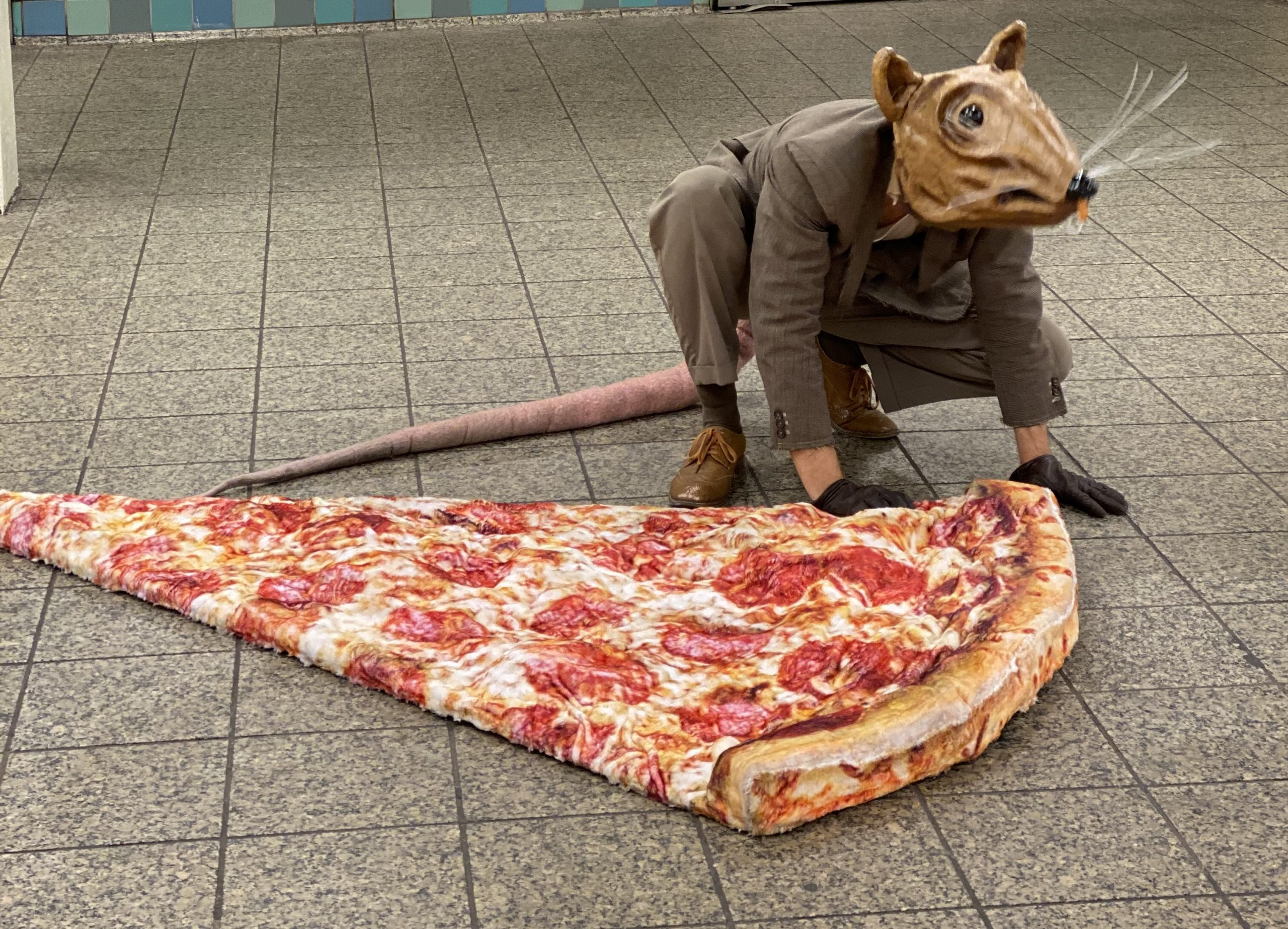 "New York's Own ""Pizza Rat"" On Making Performance Art Accessible"