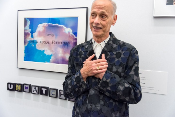 John Waters Promises Art Collection to the Baltimore Museum (If It Names Its Restrooms After Him)